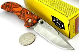 Buck Knives 0284CMS12 Bantam Knife, Orange Head Hunterz BU28