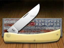 Case Sod Buster Pocket Knives, Yellow CV, Medium