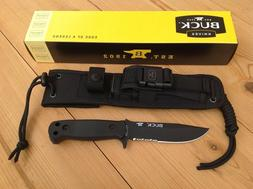 BUCK KNIVES 0822BKX-B SENTRY FIXED BLADE KNIFE WITH MOLLE SH