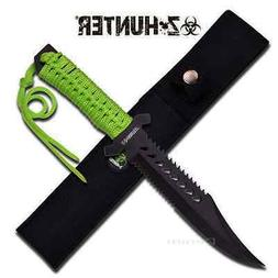 "11.5"" Z-Hunter FIXED BLADE KNIFE Hunting Hunter Combat Campi"