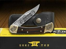 Buck 110 Premier Edition Ebony Wood Folding Hunter 1/250 Poc