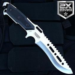 "12"" Tactical Survival Combat Full Tang Fixed Blade Hunting K"