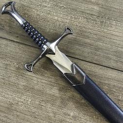 "13.5"" MEDIEVAL KNIGHT HISTORICAL SHORT SWORD DAGGER KNIFE w/"