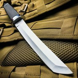 """13"""" TACTICAL BOWIE SURVIVAL HUNTING KNIFE MILITARY Combat Fi"""
