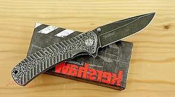 * 1301BW Kershaw Starter pocket knife plain edge  Assisted O