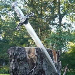 """14"""" Dark Knight Celtic Medieval Fixed Blade Knife Short Swor"""