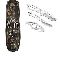 Buck 0141SSSVP1-B PakLite Field Master Kit Fixed Blade Knife