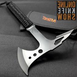 "15"" MTECH USA SURVIVAL TACTICAL TOMAHAWK THROWING AXE Knife"
