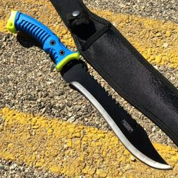 """16"""" Fixed Blade Hunting Knife Straight Camping Outdoor Knive"""