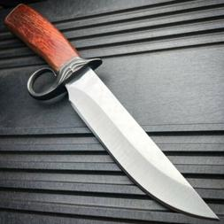 "16"" SURVIVAL HUNTING Bowie Military FULL TANG MACHETE Fixed"