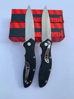 2 Lot KERSHAW Spring ASSISTED KNIFE Speed Safe 1830 LINER-LO