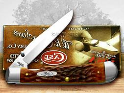 Case Chestnut Bone CV Trapperlock Pocket Knife