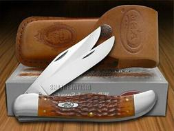 Case Chestnut Bone CV Folding Hunter Pocket Knife