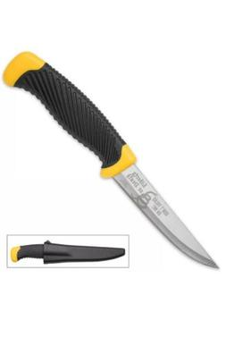 """8.5"""" Dont Tread on Me USA Fixed Blade Knife Hunting Fishing"""