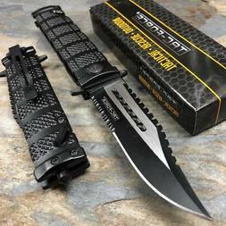 "8.5"" TAC FORCE SPRING ASSISTED FOLDING TACTICAL KNIFE Blade"