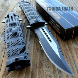 "8.5"" TAC FORCE SPRING OPEN ASSISTED TACTICAL FOLDING POCKET"