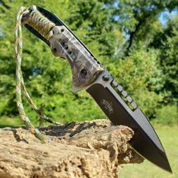 "8.75"" Tactical Hunting Pocket Knife Open Assisted Folding Kn"