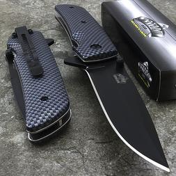 "8"" MASTER USA SPRING ASSISTED TACTICAL FOLDING POCKET KNIFE"