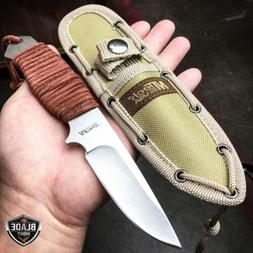 "8"" MTECH Military SURVIVAL Tactical Fixed Blade Hunting Camp"