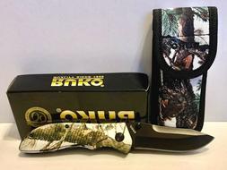 "Ruko 8"" Folder Knife Tundra Camo Handle 3.25"" Blade 1000D Sh"