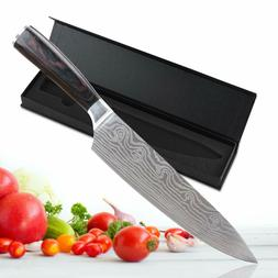 """New 8"""" inch Professional Chef Knives Damascus Kitchen Knife"""