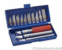 WorkShop 87509RP Hobby Knife Set, 17-Piece