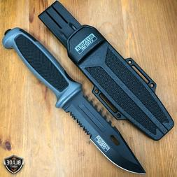 """9.25"""" Tactical Survival HUNTING KNIFE Military Combat Campin"""