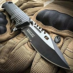 """9"""" TAC FORCE Spring Assisted Open SAWBACK BOWIE Tactical Res"""