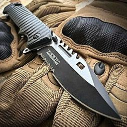 "9"" TAC FORCE Spring Assisted Open SAWBACK BOWIE Tactical Res"