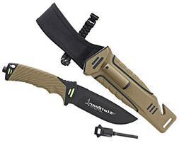 StatGear 99416 Surviv-All Drop Point Blade Knife w/ Multi-Pu