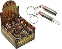 CN211357 44 Magnum Keychain 12 Piece Display Folding Knife P