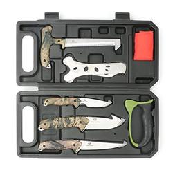 MOSSY OAK Field Dressing Kit, Portable Butcher Game Process