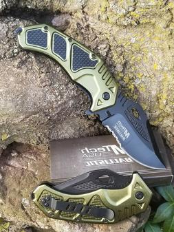 MTECH USA-Spring-Assist Pocket-Knife-Ballistic-Semi-Automati