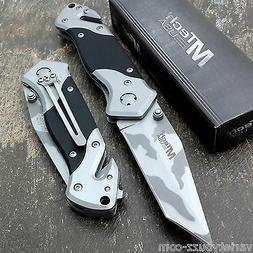 MTECH USA URBAN CAMO Pocket Tanto Knives Tactical G10 Rescue