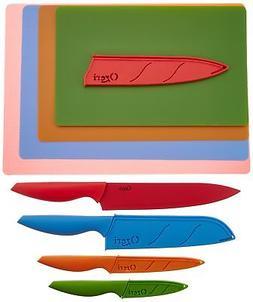 Ozeri Elite Chef 15-Piece Stainless Steel Knife & Cutting Ma