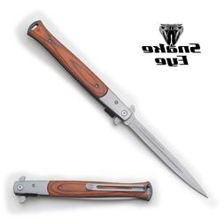 Snake Eye Tactical Large Italian Milano Style Assisted Foldi