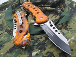TAC-FORCE Assisted Opening Linerlock Design A/O Speed Rescue