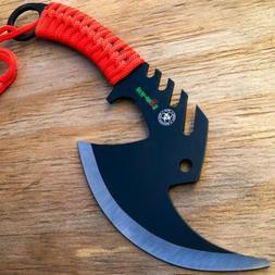 TACTICAL TOMAHAWK THROWING AXE  HATCHET CAMPING KNIFE HUNTIN