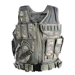 vAv YAKEDA Army Fans Tactical Vest Outdoor Equipment Supplie