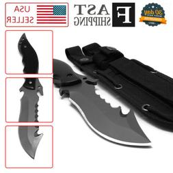 Army Survival Knife Camping Hunting Tools Tactical Straight