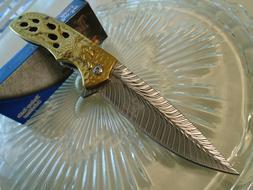 Dark Side Blades Ballistic Assisted Gold Chrome Eagle Pocket