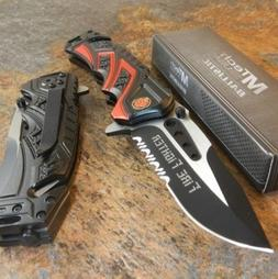 MTech BALLISTIC Assisted Opening Rescue FIRE FIGHTER DEPT BL