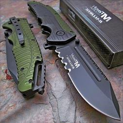 "MTECH USA Mtech Ballistic 8.7"" Heavy Duty Folding Blade Pock"