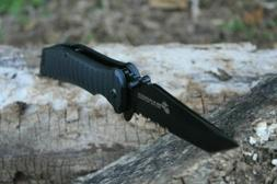 MTech USA ballistic marine serrated blade