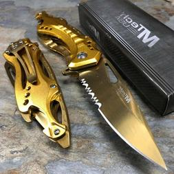 MTech USA Ballistic MT-A705SGD Spring Assist Folding Knife,