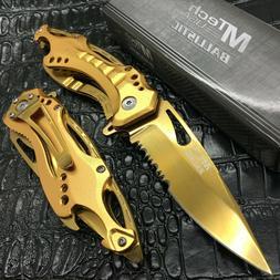 MTech USA Ballistic MT-A705GD Spring Assist Folding Knife, G