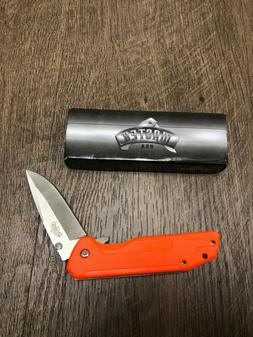 Master USA Ballistic Orange Spring Assisted Folding Pocket K