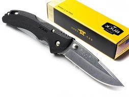 Buck Knives Bantam Folding Pocket Knife Black 4-3/8 In. Clos