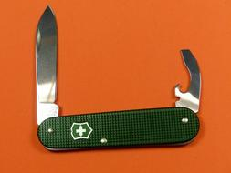 VICTORINOX BANTAM GREEN ALOX  KNIFE LTD. Sococut NEW
