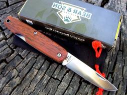 Bear & Son CB79 Executive Pen Knife slip joint Cocobolo wood